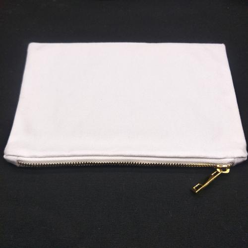White with white-gold zip