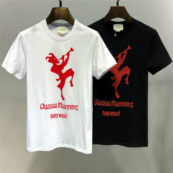 2019 Summer New Arrival High Quality Designer Clothing Men's T-Shirts Fashion Print Tees Size M-3XL 19s