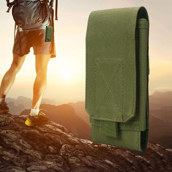 Multifonctionnel Tactique Militaire Mobile Téléphone Ceinture Poche Pack Couverture pour Chasse En Plein Air Camping Taille Sac # 705637
