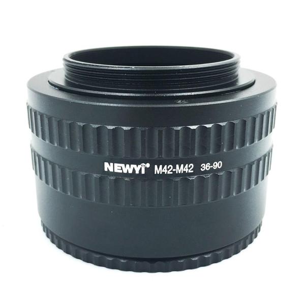 NEWYI M42-M42 Mount Lens Adjustable Focusing Helicoid 36-90Mm Macro Extension Adapter