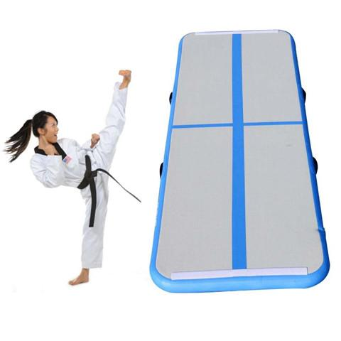3M Inflatable Gymnastic Mat Taekwondo Flip Household Air Track Floor Trampoline Yoga Mat Parkour Multifunctional Sports Mat