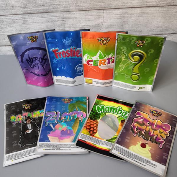 best selling Runtz Packaging Bag For Dry Herb Flower Martian Candy CakeBatter Miami Zourz Money Bagg Sharklato Gold Edition Shark Cake Mylar Bags