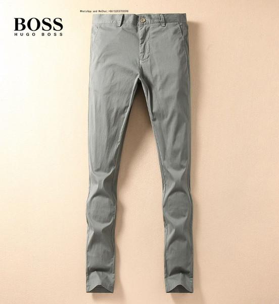 52811 Мода осень и зима Trend байкерские джинсы Мужской Navy Blue Hole Высокая Упругие маленькие ноги штаны TaoBao Pin Лидирующий Тонкий