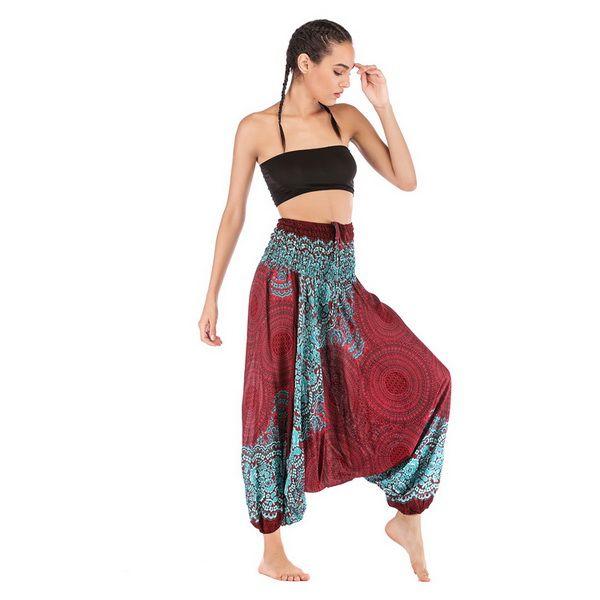 Yoga Hose Männer Nner Harem Indien Bekleidung Thai Frauen
