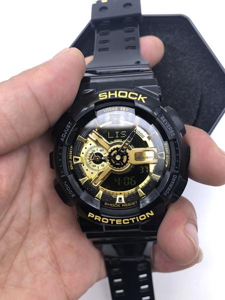 2020 Art und Weise Ankunfts-Männer Military Uhren Multifunktions-LED Digital Shock Quarz-Sport-Uhren für Mann Männliche Studenten Uhr