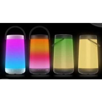 LED colorati Altoparlanti portatili del bluetooth con manico, suono superiore e Extra Bass, altoparlanti wireless per il telefono, computer, TV e Altro