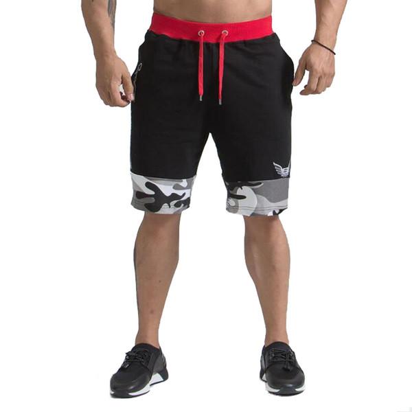 Pantalones cortos de verano Hombres Pantalones cortos de entrenamiento Pantalones cortos de algodón de alta calidad Ropa de musculación Gimnasio Pantalones Joggers Ropa Regalos
