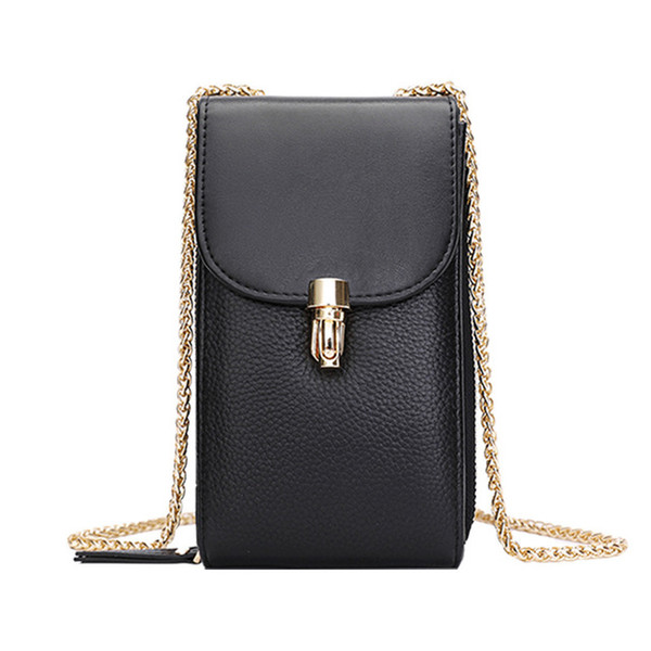 Mobile phone bag/lady/new/cross-body bag/clutch/versatile/small bag/small purse/mini/one shoulder bag/portable/leather/cowhide