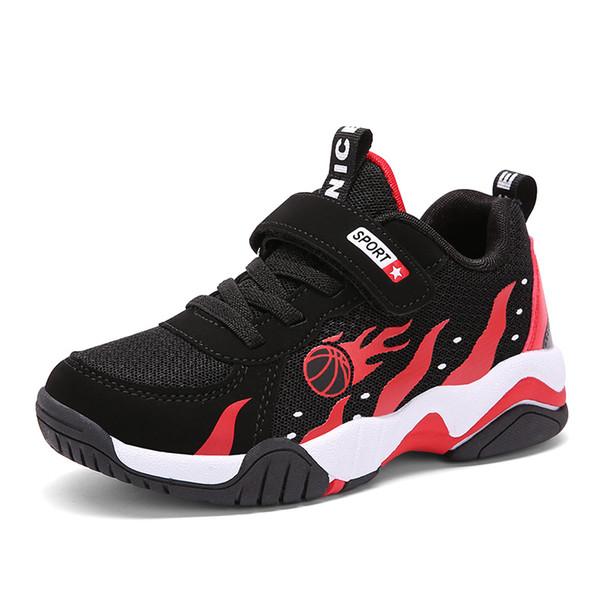 Chaussures garçons rouges