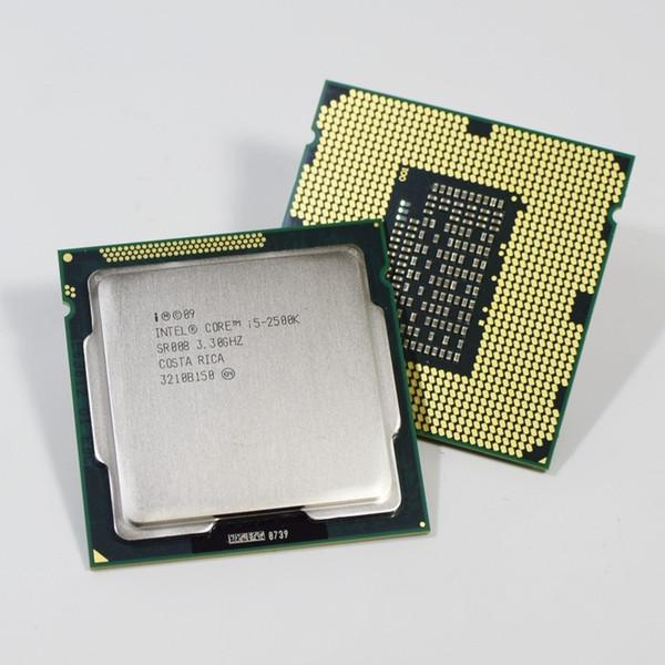 Intel i5 2500K Quad-Core 3.3GHz LGA 1155 Processor TDP:95W 6MB Cache With HD Graphics i5-2500k Desktop CPU