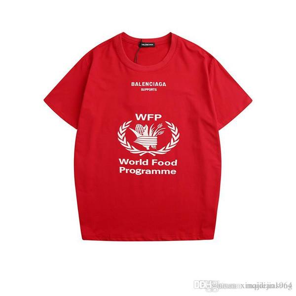 L903 #, T-shirt à encolure arrondie, manches courtes, impression lettre imprimée 2019. T-shirt Blé