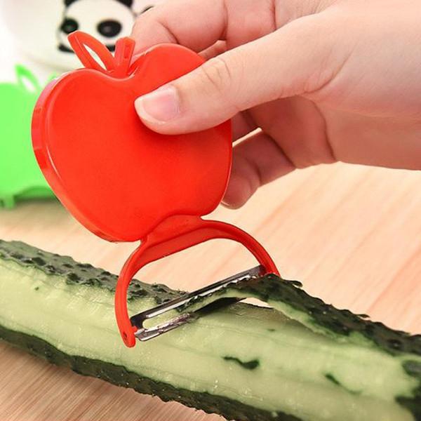 Plegado de Apple Zesters vegetal de la fruta Peeler cocina linda Herramientas de acero inoxidable Cuchilla Peeler de la cocina Cuchillo de Apple cepillado DBC BH2626