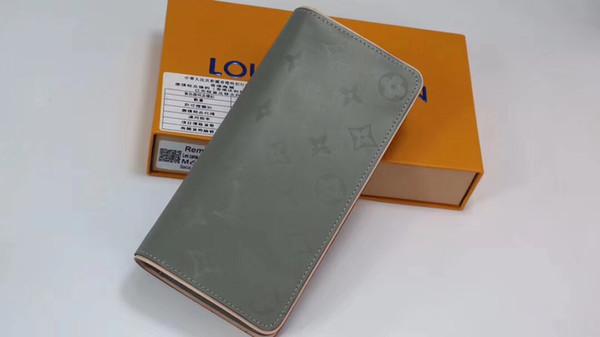 63236 Hochwertige PU-Leder Mode Cross-Wallet Herren Designer Card Wallets Tasche Tasche im europäischen Stil Marke Geldbörsen mit