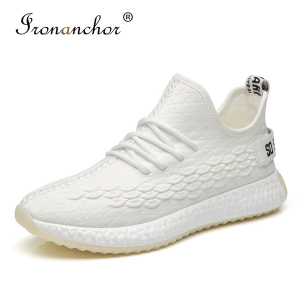 2019 men sneakers Comfortable Lightweight Breathable Mesh Fashion trending summer men casual shoes #FFFGYZ