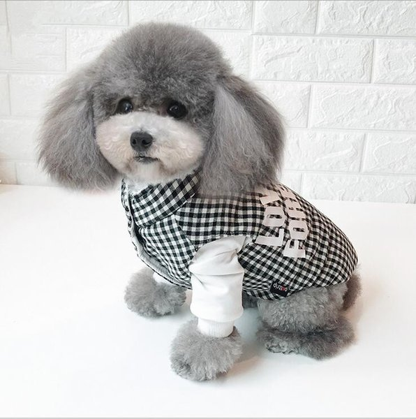buy best huge inventory outlet online 2019 Winter Pet Coat Clothes For Dogs Winter Clothing Warm Dog Clothes For  Small Dogs Christmas Big Dog Coat Winter Clothes Chihuahua A5 From ...