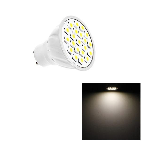GU10 5W LED Bulbs Lamp 21 LEDs SMD 5050 AC 220V LED Light Energy Saving Lighting For Downlight Table Lamp For Downlight Table Light