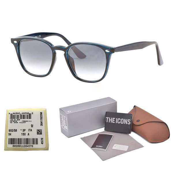 New Arrival Brand Designer UV400 glass lens Square Sunglasses Women men cool street men gafas sun glasses with free case and label