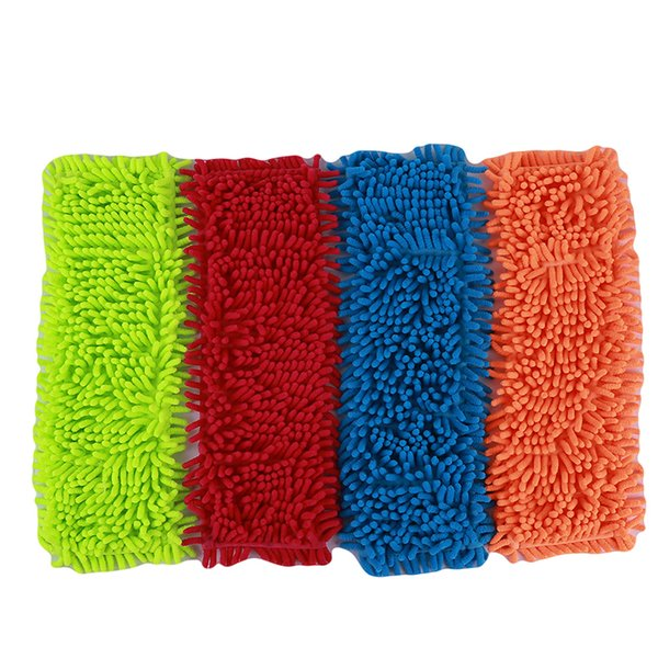 4 Colors Home Pad Refill Household Dust Mop Head Replacement Suitable For Cleaning The Floor Soft Texture Practical C19041701
