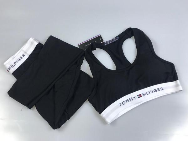 LVL Donne Set Yoga Sport maglia della parte superiore + riflettenti Leggings Abbigliamento Fitness Corsa Collant Jogging Workout Yoga Leggings Sport Suit B02