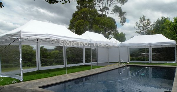 FREE SHIPPING ! 38x38x1.8mm leg profile aluminum 10ft x 20ft folding tent, canopy, gazebo, Marquee, awning, party tent