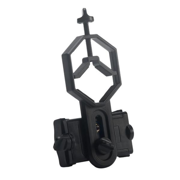 Soporte para telescopio universal Adaptador para teléfono celular Montaje para manchado monocular binocular # 0128