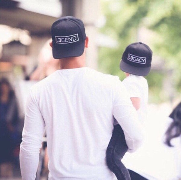 f99db967 2018 New Legend And Legacy Hats Embroidery Baseball Cap Dad And Baby  Snapback Hat Adjustable Fashion Dad Hats Flexfit Hats For Men From  Tradecompany8, ...