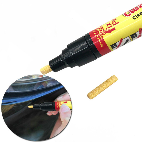 Penna della pittura dell'automobile Nuova auto-styling Correzione portatile Penna trasparente della penna di rimozione automatica di riparazione della riparazione del graffio dell'automobile DHL libera il trasporto