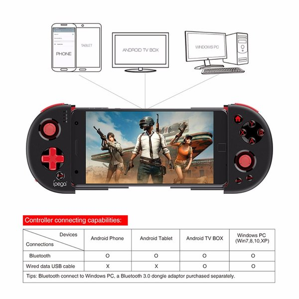 Bluetooth Gamepad Game Pad Pugb Mobile Dzhostik Joystick For iPhone Android Cell Phone PC Trigger Controller Mobil On Free Fire