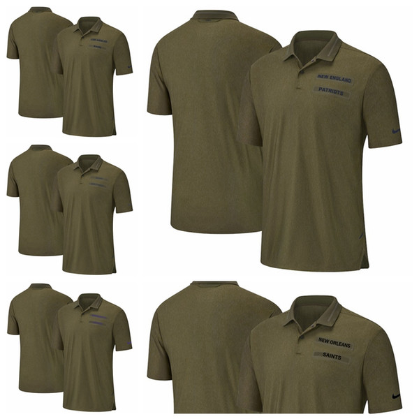 307696b8 2019 Los Angeles Rams Miami Dolphins Minnesota Vikings New Patriots New  Orleans Saints Salute To Service Sideline Polo From Hxxy88, $18.28 | ...