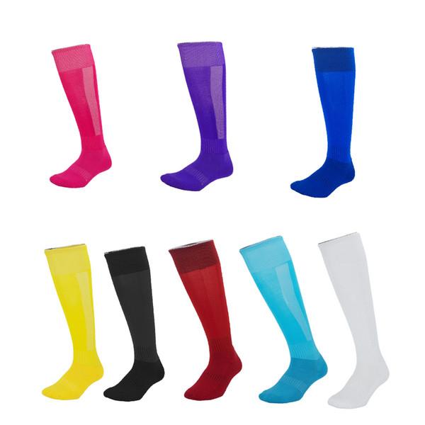 Popular dos eua meias de futebol crianças adultos inferior anti derrapante meias altas do joelho escalada jogging correndo meias ao ar livre para homem mulher m115y