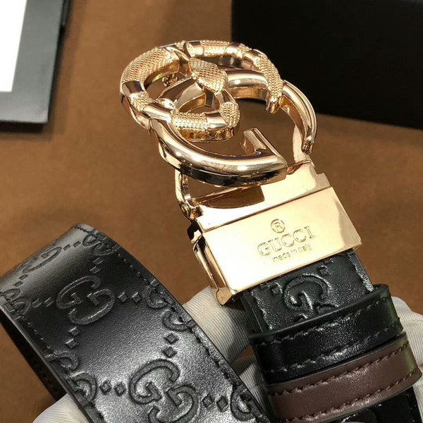 2019 hot g big buckle brand belt h fashion luxury designer cuero genuino damier cinturones para hombre para hombres 3.5cm 110cm1564488882920