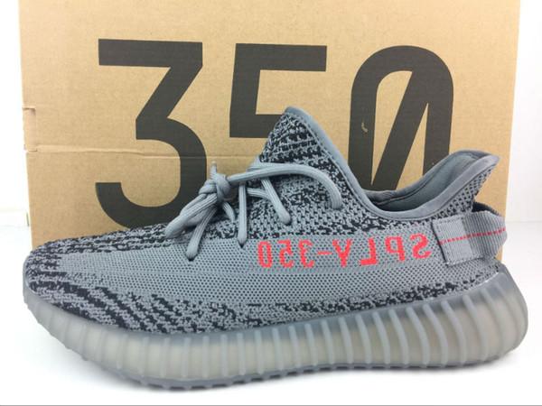 2019 Cheap 350 v2 running shoes Pirate Black BB5350 Mens Running Shoes Women Kanye West 350 s Season