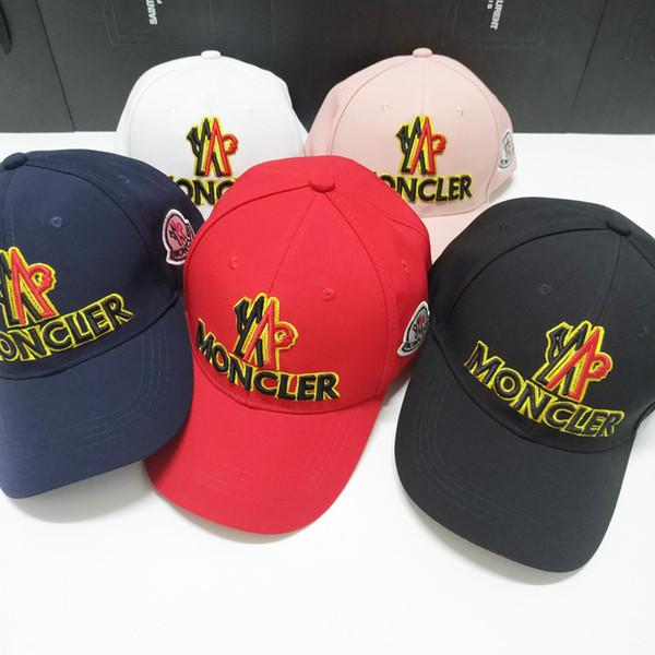 Brand new fashion 20pcs/lot Embroidery hats caps men women designer Snapback Cap for men baseball hat m0ncler gorras bone casquette 5colors