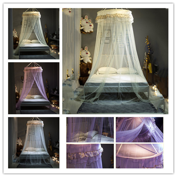 New Arrival mosquito net Elgant Canopy Mosquito Net For Double Bed Repellent Tent Insect Reject Canopy Bed