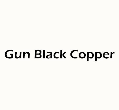 Color: Pistola chapada en negro