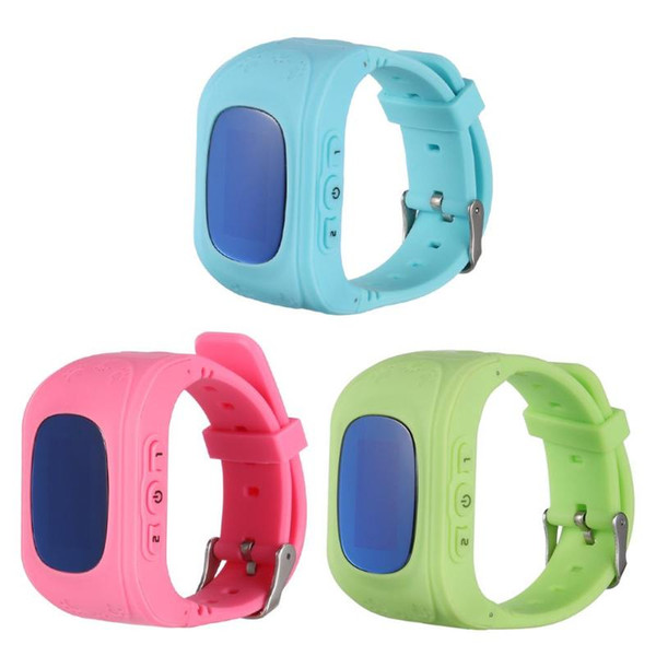 Kids Smartwatch Anti Lost Child GPS Tracker SOS Smart Monitoring Positioning Phone Kids GPS Baby Watch Compatible & Android
