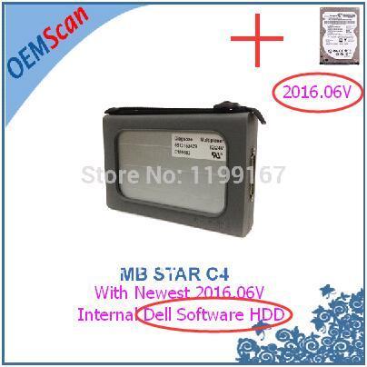 MB c4 mit Dell HDD