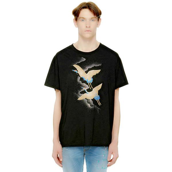 süper rahat erkek kısa kollu yuvarlak boyun T-büzgü tasarımcı sıcak satış T3 hızlı sevkiyat tişört moda baskı moda mektup erkekler