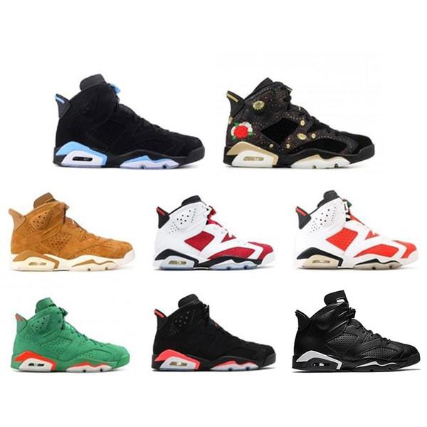 2019 6 NRD Gatorade Camurça Verde 3 M JSP Reflexivo Sapatos de Basquete Infravermelho Alterna Para Homens de moda de luxo das mulheres dos homens sandálias de grife sapatos