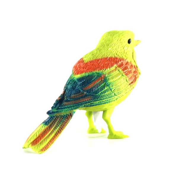 top popular New Plastic Sound Voice Control Activate Chirping Singing Bird Funny Toy Gift Kids Children Early Educational Toys 2021