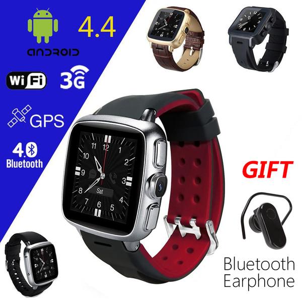 Z01 Android 4.4 MT6572 Dual-Core-Smart-Watch-Handy mit Kamera GPS Wifi Google Play Unterstützung SIM-Karte Micro SD WCDMA WhatsApp