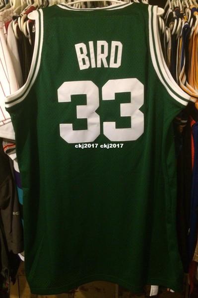 34de0c25560 Cheap wholesale Larry Bird Jersey AD Nwt New Men Pierce #33 T-shirt vest