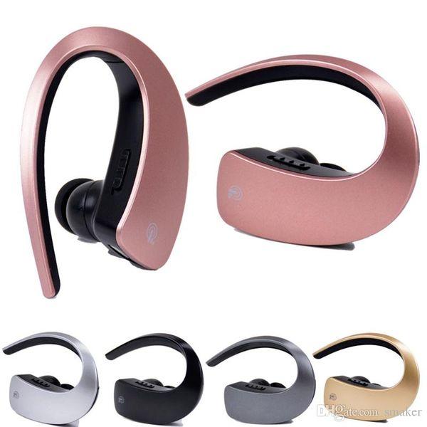 Q2 Ear Hook Bluetooth Earphones Wireless Headset Touch Key CVC6.0 Apt-x Stereo Music HD MIC Handsfree Headphone for Mobilephone