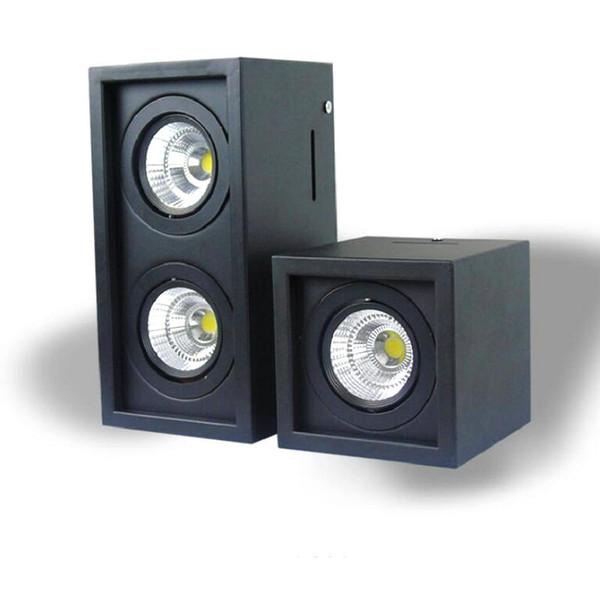 10W 20W COB LED Ceiling Down Light AC110V-240V Cold white/Warm White square double LED Downlight Lamp