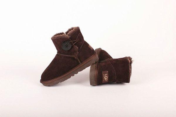 UG3352 botte nouvelles bottes d'hiver classique pour enfants chauds filles d'hiver garçons enfants bottes de neige bottes neige enfants australiens chaussures TAILLE 21-35