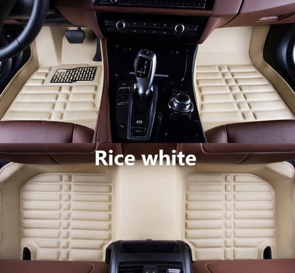 Car Floor Mats Front & Rear Liner Waterproof Auto Mat For Chevrolet Malibu 2012-2015