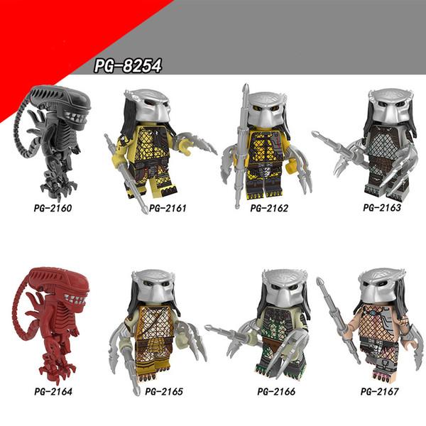 Mini figure Glaxy War Building Blocks Super Heroes The God of War Serie di film Drax The Destroyer Figure per bambini Giocattoli di modello PG8254
