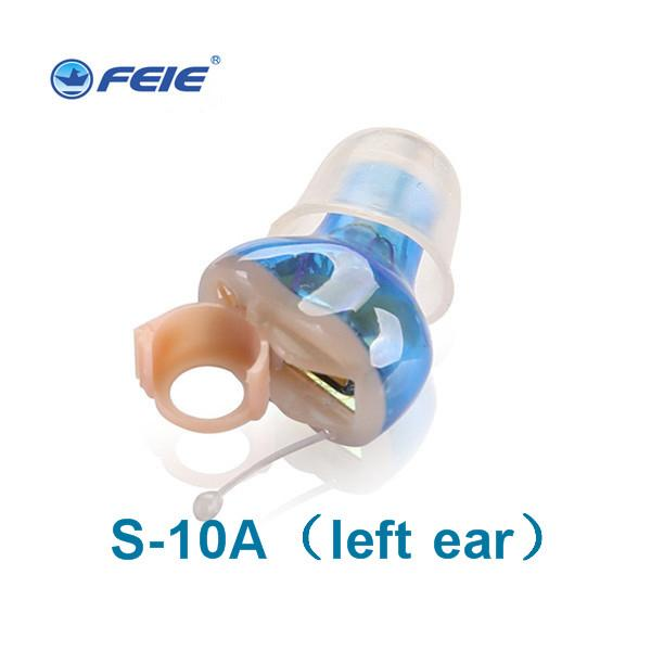 Small Mini Invisible Hearing Aids Sound Amplifier Ear Care Tool Device For Elderly Deaf Hearing device S-10A