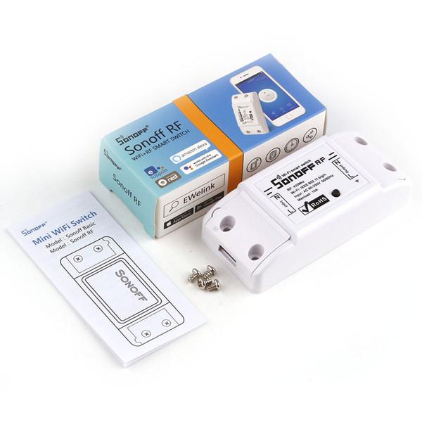 Commutateur d'origine Sonoff Pow R2 WiFi Smart Power Monitor Protection contre la surcharge Commutateur Contrôle vocal Contrôlez la mise à niveau gratuite de la version mise à niveau