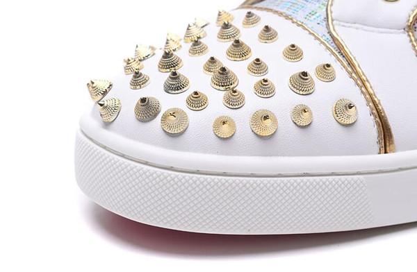 Moda sihirli renk serin perçin kadın ayakkabı dört mevsim tarzı Avrupa ve Amerikan rahat lace up düz bayanlar ayakkabı